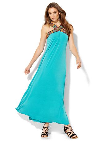 NY&amp-C: Halter Maxi Dress