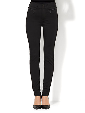 NY&ampC: Soho Jeans - High-Waist Legging - Black