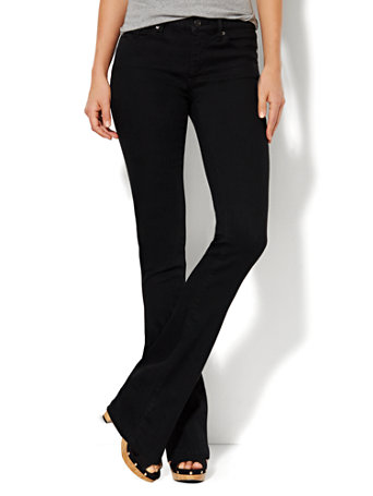 NY&C: Soho Jeans - Instantly Slimming - Bootcut - Black