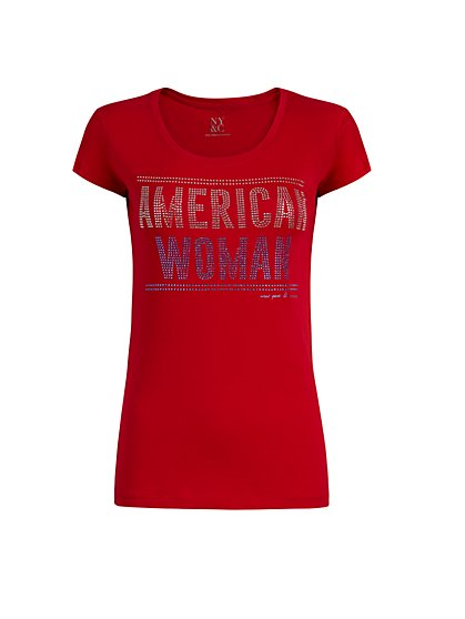 """American Woman"" Graphic Tee - New York & Company"