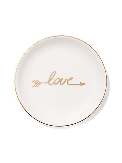 """Love"" Trinket Tray  - New York & Company"