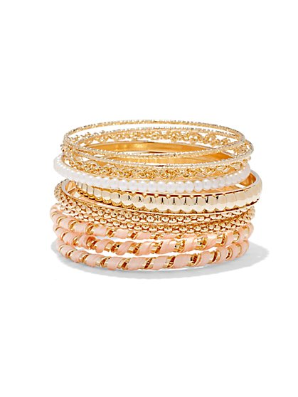 10-Piece Bangle Set  - New York & Company
