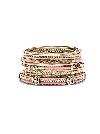 11-Piece Bangle Bracelet Set  - New York & Company