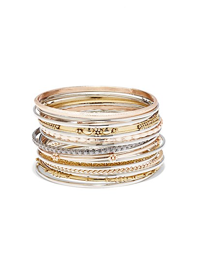16-Piece Bangle Set  - New York & Company