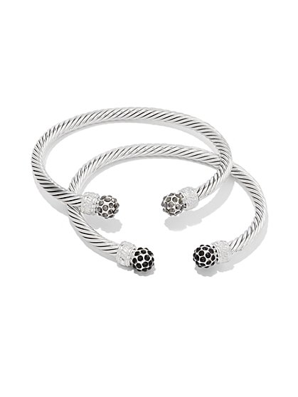 2-Piece Cuff Bracelet Set  - New York & Company