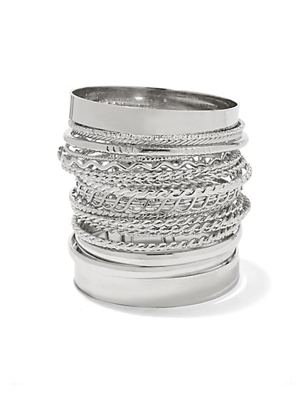 20-Piece Bangle Bracelet Set  - New York & Company