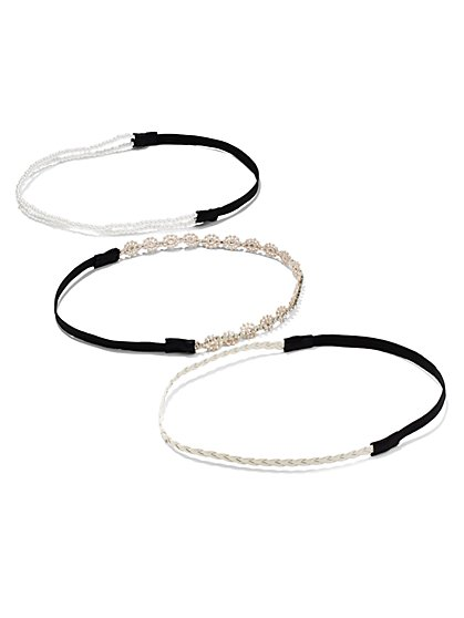 3-Piece Headband Set  - New York & Company