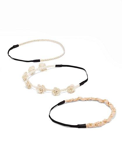 3-Piece Headband Set  - New York & Company