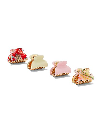 4-Piece Hair Clip Set  - New York & Company