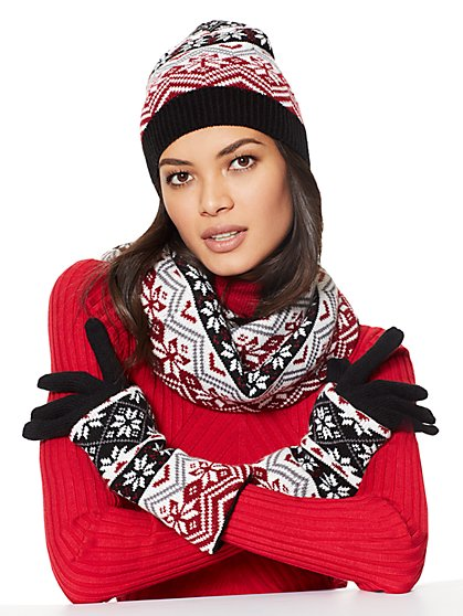 4-in-1 Convertible Cold Weather Accessories Gift Set  - New York & Company
