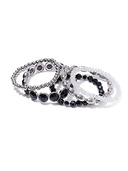 5-Piece Stretch Bracelet Set  - New York & Company