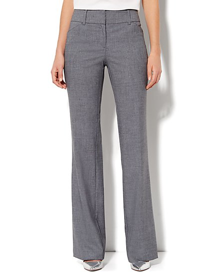 7th Avenue Bootcut Pant - Carlson Grey - Tall - New York & Company