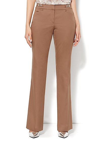 7th Avenue Bootcut Pant - Cotton - Tall  - New York & Company