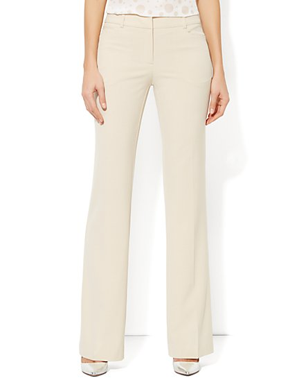 7th Avenue Bootcut Pant - Double Stretch - Average