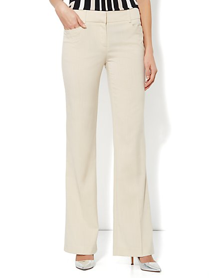 7th Avenue Bootcut Pant - Driftwood - Average - New York & Company