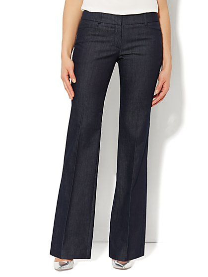 7th Avenue Bootcut Pant - Hidden Blue