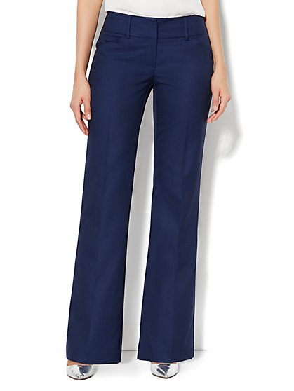 7th Avenue Bootcut Pant - Navy - New York & Company