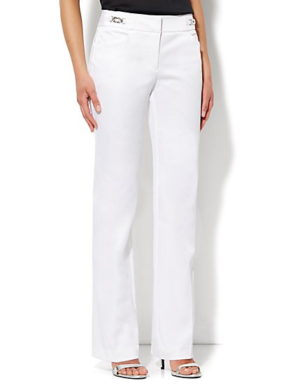 7th Avenue Bootcut Pant -Twill - Petite - New York & Company