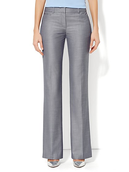 7th Avenue Bootcut Pant - Venus Blue - Tall