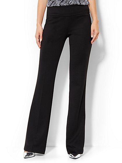 7th Avenue Bootcut Pull-On Pant - Average