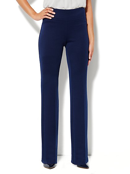 7th Avenue Bootcut Pull-On Pant - Grand Sapphire - Petite - New York & Company