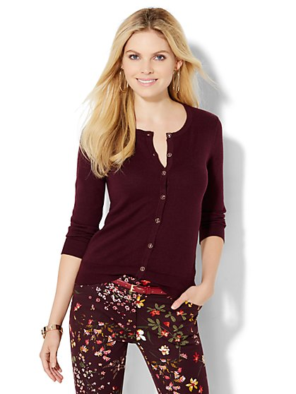 7th Avenue Design Studio - Chelsea Cardigan  - New York & Company