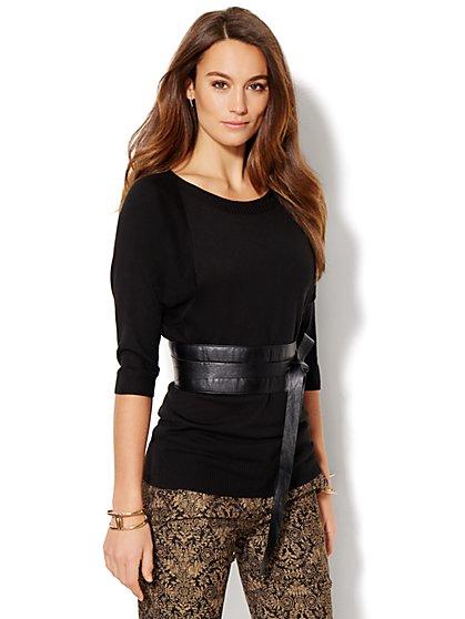7th Avenue Design Studio - Dolman Tunic Sweater  - New York & Company