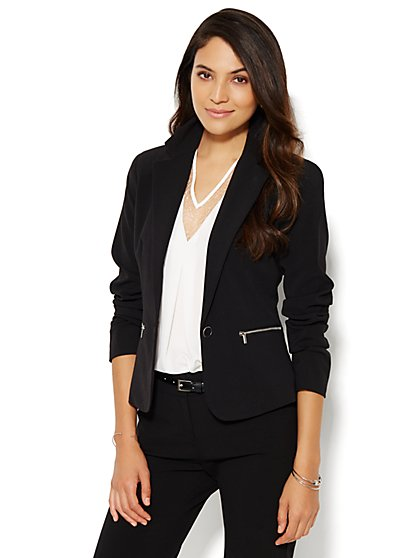 7th Avenue Design Studio Jacket - Modern Fit - Double Stretch - New York & Company