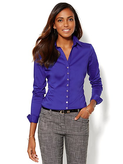 7th Avenue Design Studio -Madison Shirt - Petite  - New York & Company