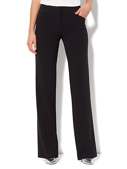 7th Avenue Design Studio Pant - Bootcut - Double Stretch -Tall - New York & Company