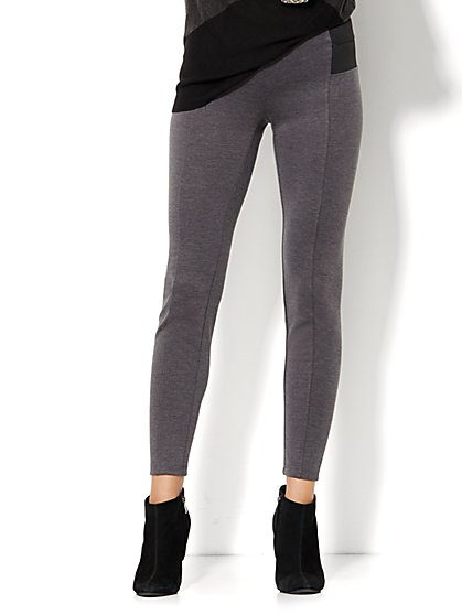 7th Avenue Design Studio Pant - Legging Fit - Stretch Panels - New York & Company