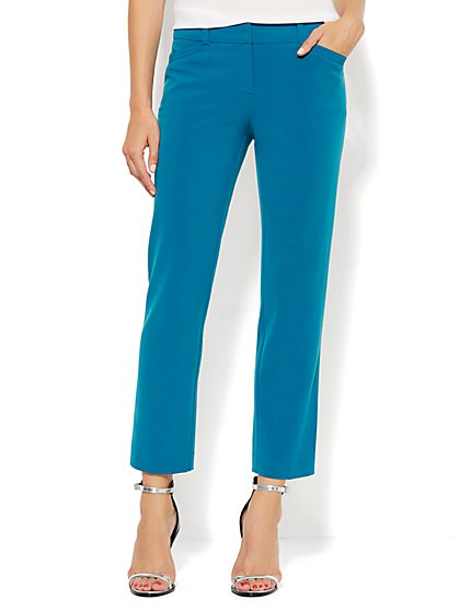 7th Avenue Design Studio Pant - Modern Fit - Ankle Pant - Double Stretch - New York & Company