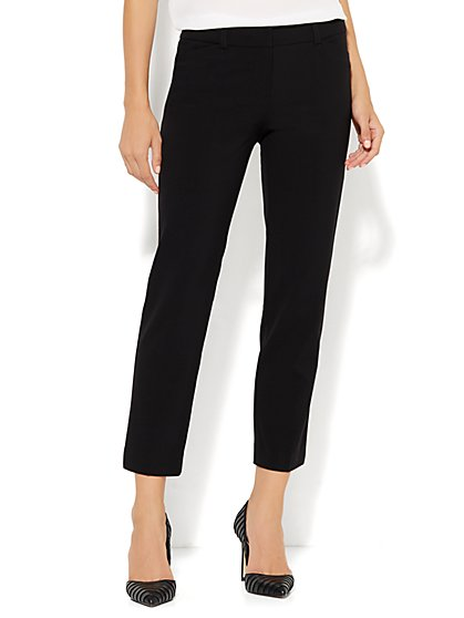 7th Avenue Design Studio Pant - Modern Fit - Ankle Pant - New York & Company