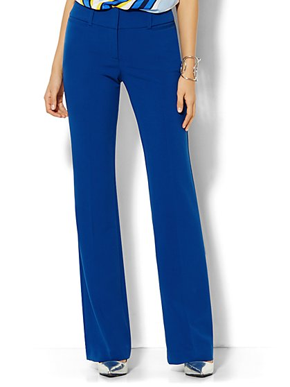 7th Avenue Design Studio Pant - Modern Fit - Bootcut - Double Stretch - Petite - New York & Company