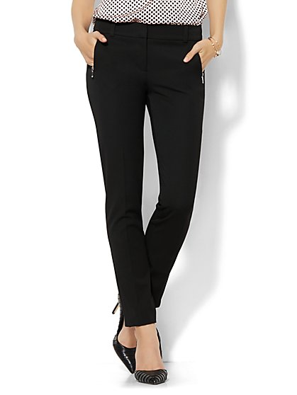 7th Avenue Design Studio Pant - Modern Fit - Slim - SuperStretch - Petite - New York & Company