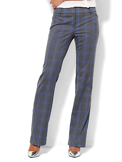 7th Avenue Design Studio Pant - Modern Fit - Straight - Grand Sapphire - New York & Company