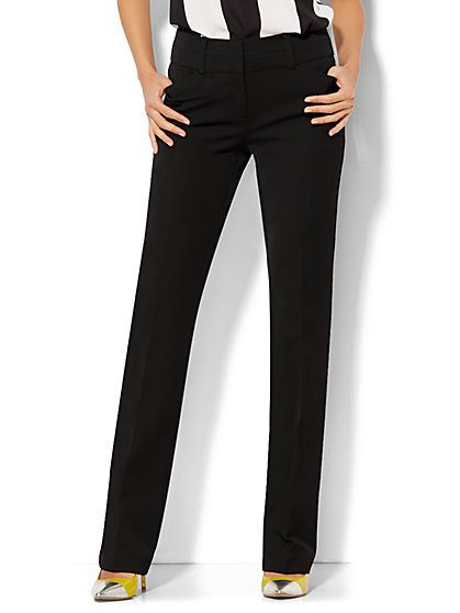 7th Avenue Design Studio Pant - Modern Fit - Straight Leg - SuperStretch  - New York & Company