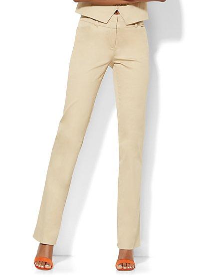 7th Avenue Design Studio Pant - Modern Fit - Straight Leg - Tall  - New York & Company