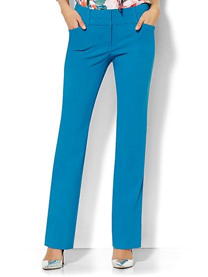 7th Avenue Design Studio Pant - Modern Fit - Straight Leg  - New York & Company