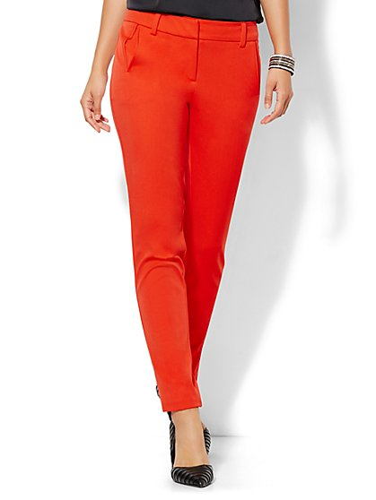 7th Avenue Design Studio Pant - Modern Fit - SuperStretch  - New York & Company