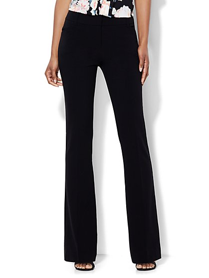 7th Avenue Design Studio Pant - Modern - Leaner Fit - Bootcut - Double Stretch - Petite - New York & Company