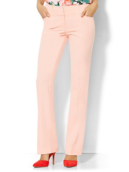 7th Avenue Design Studio Pant - Modern - Leaner Fit - Straight Leg - SuperStretch  - New York & Company