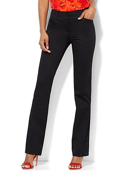 7th Avenue Design Studio Pant - Modern - Leaner Fit - Straight Leg - Tall  - New York & Company