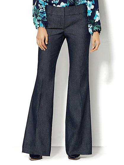 7th Avenue Design Studio Pant - Modern - Leaner Fit - Trouser - Grand Sapphire  - New York & Company