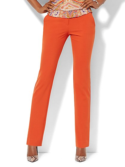 7th Avenue Design Studio Pant - Runway Fit - Slim Leg - Double Stretch - New York & Company