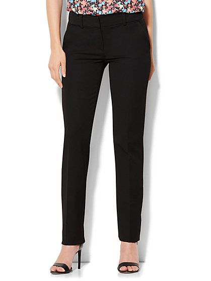 7th Avenue Design Studio Pant - Runway Fit - Slim Leg - SuperStretch - Petite - New York & Company
