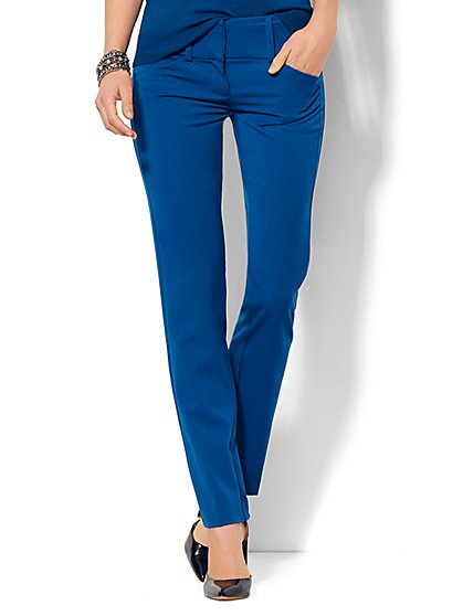 7th Avenue Design Studio Pant - Runway Fit - Slim Leg - SuperStretch  - New York & Company