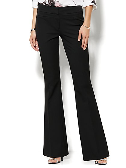 7th Avenue Design Studio Pant - Runway - Slimmest Fit - Flare - SuperStretch - New York & Company