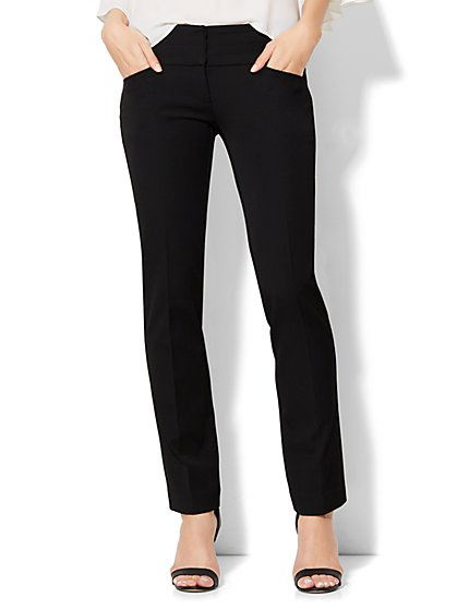 7th Avenue Design Studio Pant - Runway - Slimmest Fit - Slim Leg - SuperStretch - New York & Company