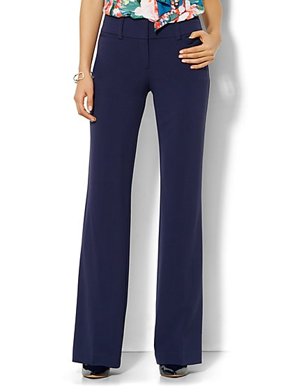 7th Avenue Design Studio Pant - Signature Fit - Bootcut - Double Stretch - New York & Company